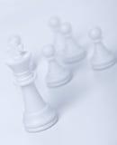 диаграмма король шахмат Стоковые Фото