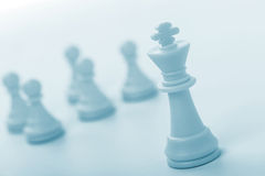 диаграмма король шахмат Стоковое фото RF