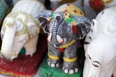 Диаграмма Лаос слона Стоковое фото RF
