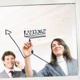 диаграмма предпринимателей Стоковые Изображения RF