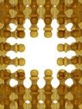 диаграмма рамка шахмат Стоковая Фотография