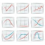 Диаграмма роста 9 Стоковое Изображение