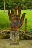 Диаграмма руки на трассе Encantau Camin в совете Llanes Природа, перемещение, ландшафты, леса, фантазия стоковые изображения rf