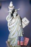 диаграмма статуя вольности Стоковое Фото
