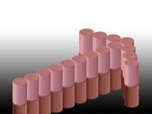 Диаграмма стрелки и монеток Стоковые Фотографии RF