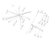 Диаграмма с анализом короткого замыкания сети Стоковая Фотография