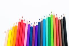 Диаграмма карандаша Стоковая Фотография
