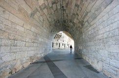 диаграмма уединённый каменный тоннель Стоковая Фотография