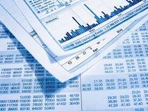 диаграмма финансовохозяйственная Стоковые Фото