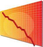 диаграмма финансовохозяйственная Стоковая Фотография RF