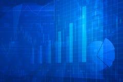 Диаграмма финансовых и диаграммы дела и бесплатная иллюстрация