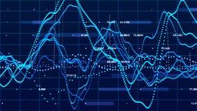 Диаграмма фондовой биржи r E r иллюстрация вектора