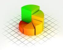 диаграмма цвета Стоковые Изображения RF