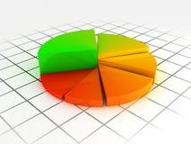 диаграмма цвета Стоковые Фото