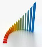 диаграмма цвета Стоковые Изображения
