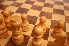 диаграмма шахмат доски Стоковые Изображения