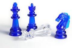 диаграмма шахмат изолировала Стоковые Изображения RF