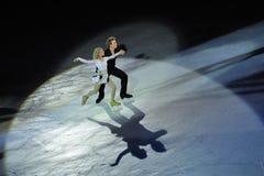 диаграмма 2011 чашки фарфора грандиозный кататься на коньках prix isu Стоковое Фото