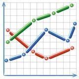 Диаграмма Стоковая Фотография RF