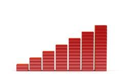 диаграмма 3d иллюстрация вектора