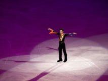 диаграмма takahashi daisuke торжественного олимпийское катаясь на коньках Стоковые Фото