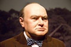 Диаграммы воска Уинстона Черчилля Стоковое Фото