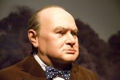 Диаграммы воска Уинстона Черчилля Стоковая Фотография RF