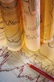 Диаграммы & диаграммы Стоковое фото RF