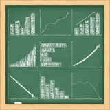 диаграммы диаграмм иллюстрация вектора