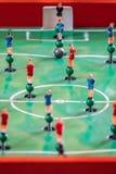 Диаграммы игры столешницы футбола Стоковое Изображение
