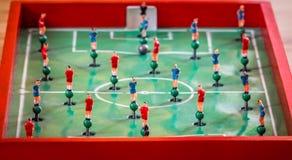 Диаграммы игры столешницы футбола Стоковые Изображения RF