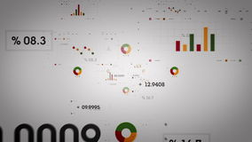 Диаграммы и данные греют Lite иллюстрация вектора