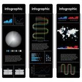 Диаграммы и элементы Infographic. Стоковые Фото