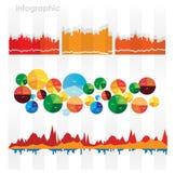 Диаграммы и элементы Infographic. Стоковое Изображение
