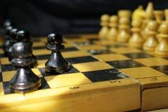 Диаграммы на шахматной доске Стоковая Фотография