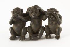 диаграммы обезьяна Стоковые Фото