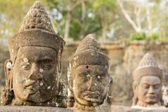 Диаграммы около виска Bayon, места наследия ЮНЕСКО, Камбоджи Стоковые Изображения RF