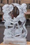 Диаграммы от льда Стоковая Фотография