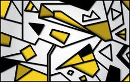 Диаграммы предпосылка вектора геометрические бесплатная иллюстрация