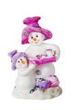 диаграммы снежок 2 человека Стоковое Изображение RF