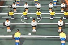 Диаграммы футбола столешницы Стоковая Фотография RF
