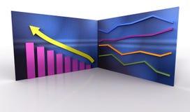 диаграммы цвета Стоковое Изображение