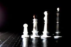 Диаграммы шахмат серии Стоковые Изображения