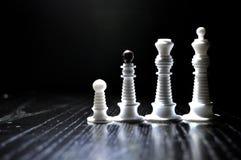 Диаграммы шахмат серии Стоковое Изображение RF