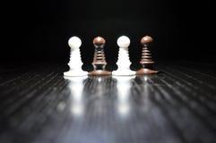 Диаграммы шахмат серии Стоковая Фотография
