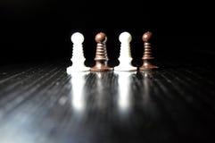 Диаграммы шахмат серии Стоковое Фото