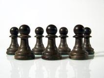 диаграммы шахмат Стоковое Изображение
