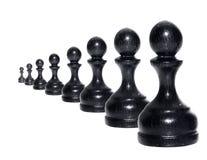 диаграммы шахмат Стоковое Изображение RF