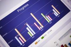 диаграммы стоковая фотография rf