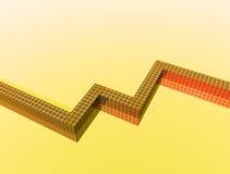 Диаграммы 2 иллюстрация вектора